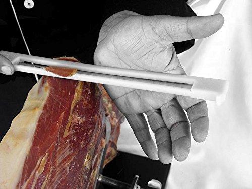 comprar cuchillo jamonero con proteccion